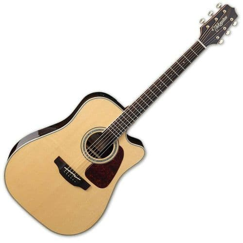 Takamine GD90CE Electro Acoustic Guitar, Natural - TK-GD90CE-ZC