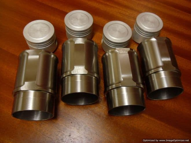 Piston and Ductile Liner Set 76.00mm CGB