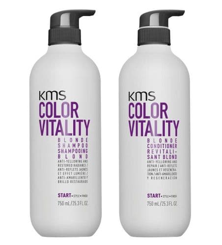 KMS Color Vitality Blonde Duo 750ml