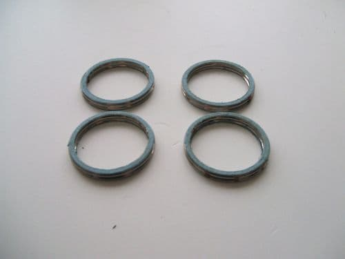 Exhaust header pipe gaskets (4) 4BE-14613-00
