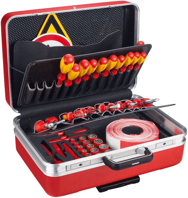 Hazet - Tool set for hybrid and electric vehicles with 43 Tools - (150/43)