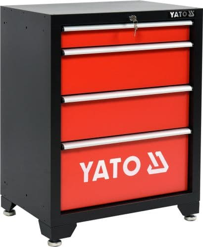 Yato - 4 Drawer Working Cabinet for Yato workshop unit - (YT-08933)
