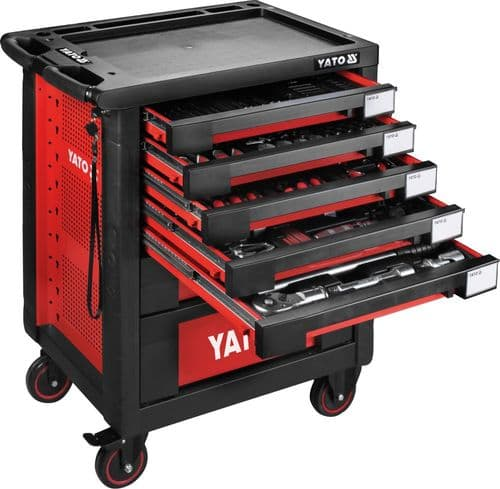 Yato - Roller Cabinet with 165 tools - (YT-55293)
