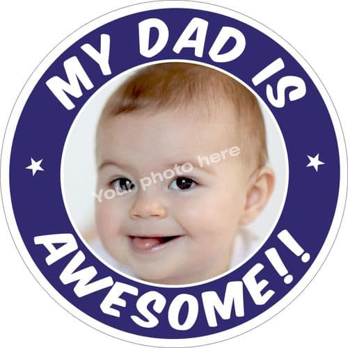 My Dad is Awesome sticker