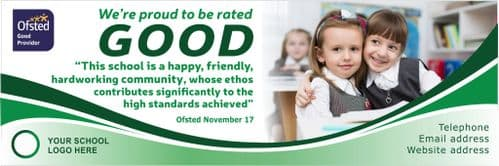 Ofsted Good banner - Template 5
