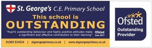 Ofsted Outstanding banner - Template 4