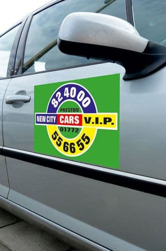 Printed Vehicle Stickers