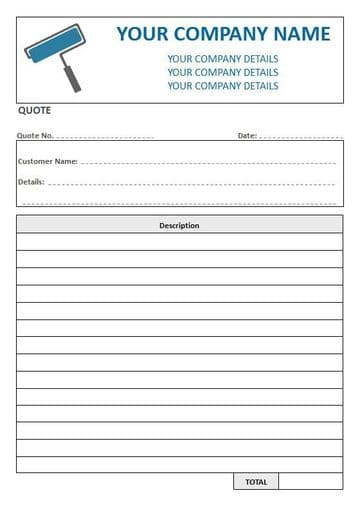 Decorators NCR Quote Pad, 1 Column Lined