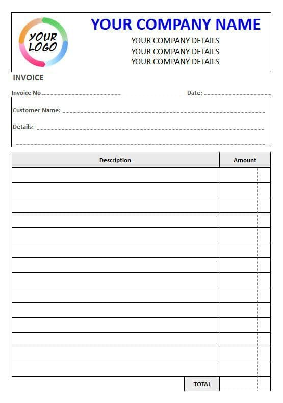 NCR Invoice Pad,  2 Column Lined