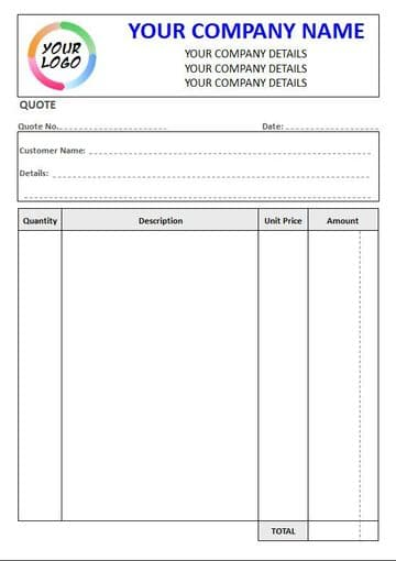 NCR Quote Pads & Sets, 4 Column