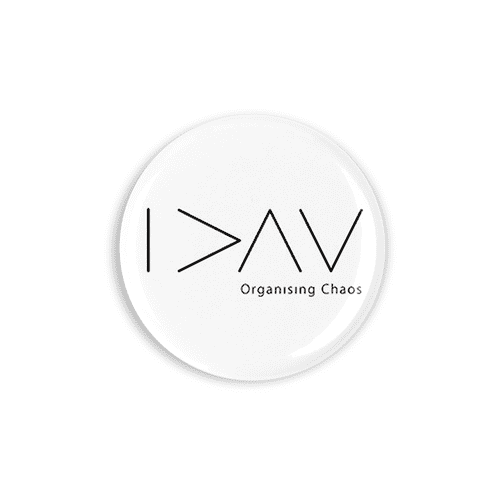 Organising Chaos Button Badge