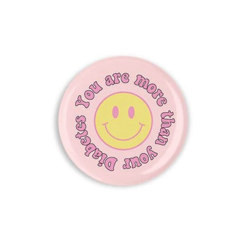 You are more than your diabetes Button Badge