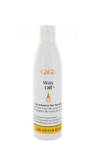 GiGi Wax Off Easily Removes Wax Residue From The Skin 236ml