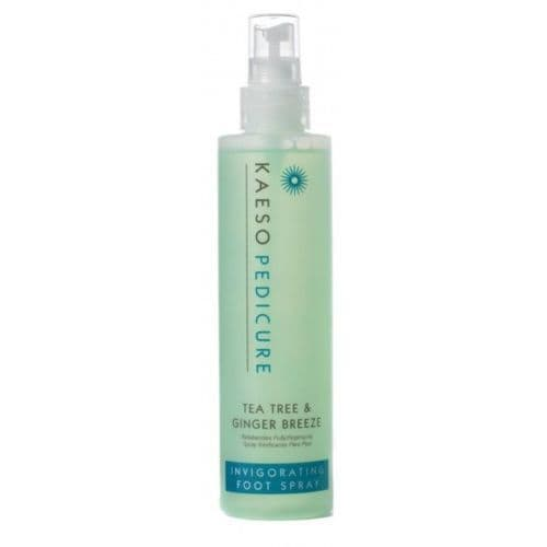 KAESO BEAUTY TEA TREE & GINGER BREEZE INVIGORATING FOOT SPRAY - 195ml pedicure