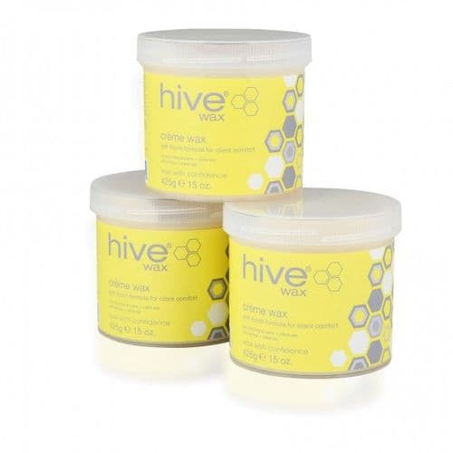 Sensitive Creme Wax by Hive - 425g  ***3 pack OFFER*** (1)
