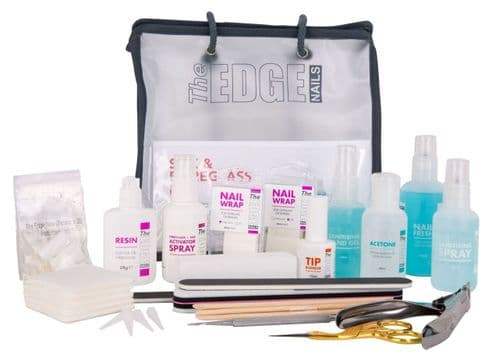 The Edge Complete Fibreglass/Silk Wrap Starter Kit
