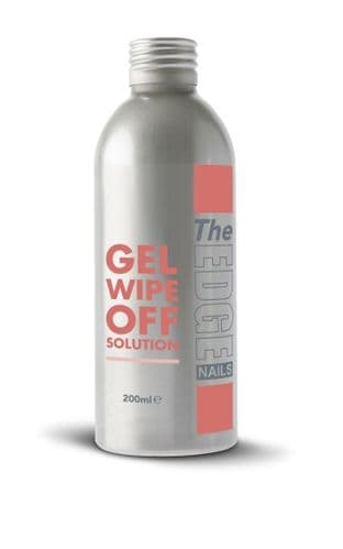 The Edge Nail Finishing Wipe off Solution - CHOOSE SIZE