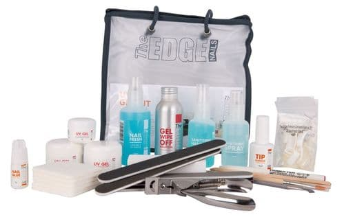 The Edge Nails Complete UV Gel Starter Kit (uv lamp required - not included)