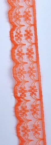 Thin Orange Lace
