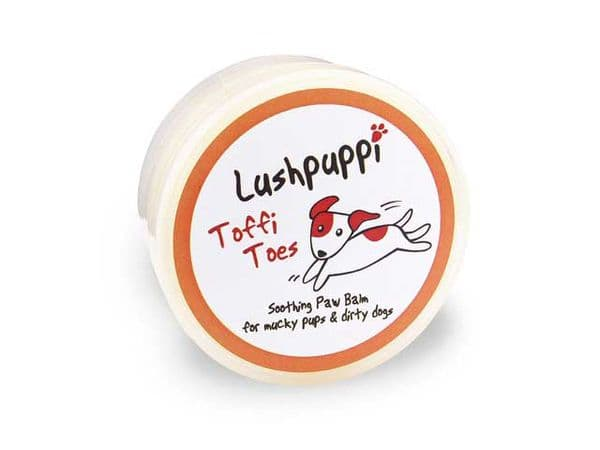 Lushpuppi<br>Toffi Toes<BR>Paw Balm