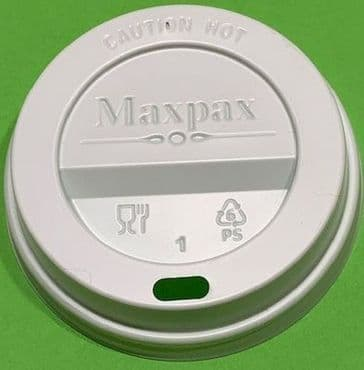 Case - 76mm Sip Lid, for Maxpax Paper Cup 200ml (7oz) - 10230.
