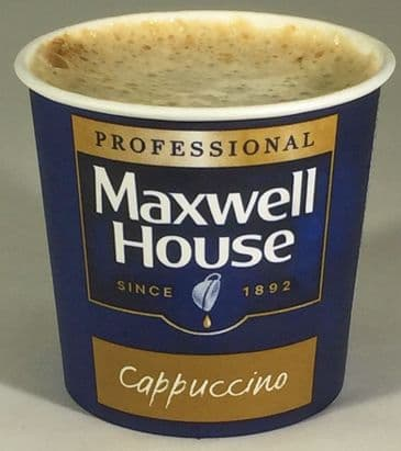 Maxwell House Cappuccino 7oz Cup