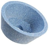 100  x 40  x 31.75mm Tyrolit Ceramic Taper Cup Grinding Wheel.