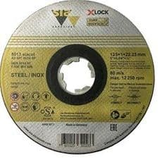 115  X Lock Cutting Discs for Angle Grinders