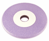 150 x 20  x 31.75mm Pink Fine Grit Grinding Wheels