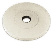 180 x 25 x 31.75mm Recessed Tyrolit White Surface Grinding Wheels