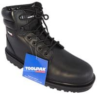 Black Safety Boot Size 8