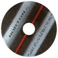 Norton non-reinforced cut-off discs 400mm. Price per 10
