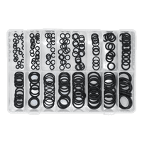 Rubber O-Ring Assortment 225pc Metric. AB004OR