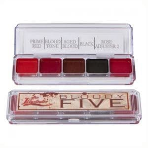Skin Illustrator Bloody Five Palette