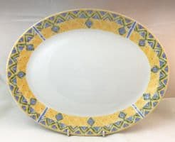 Churchill Ports of Call Herat Oval Platters