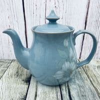 Denby Blue Dawn Teapot, 2 Pints