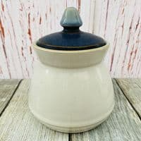 Denby Blue Jetty Lidded Sugar Bowl