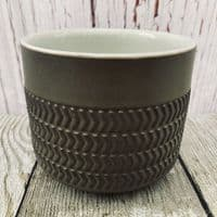 Denby Chevron Open Sugar Bowl