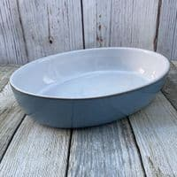 Denby Colonial Blue Oval Serving Dish