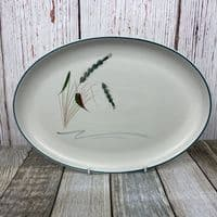 Denby Greenwheat Large Oval Platter