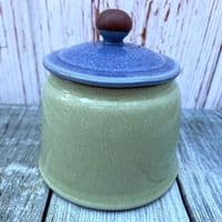 Denby Juice (Apple/Berry) Lidded Sugar Bowl