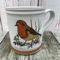 Denby Pottery Birds of a Feather Mugs