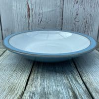 Denby Pottery Colonial Blue Rimmed Bowl