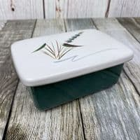 Denby Pottery Greenwheat Butter Dish