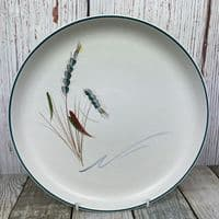 Denby Pottery Greenwheat Dinner Plate