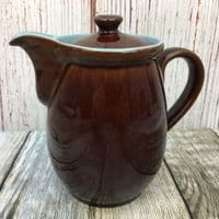 Denby Pottery Homestead Brown Coffee Pot, 1 Pint