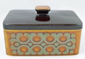 Hornsea Pottery Bronte Lidded Butter Dishes