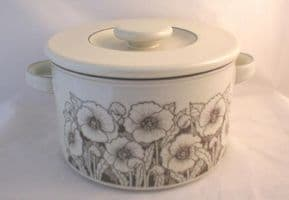Hornsea Pottery Cornrose Large Lidded Serving Dishes