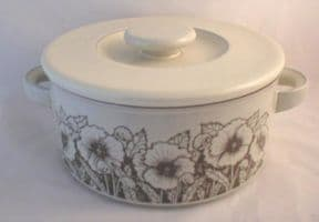 Hornsea Pottery Cornrose Lidded Serving Dishes (Loop Handled)