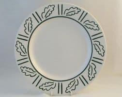 Hornsea Pottery Forest Dinner Plates, White Background